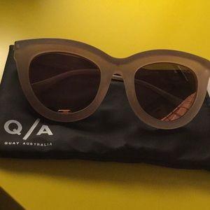 Quay Australia Eclipse Cat Eye Sunglasses
